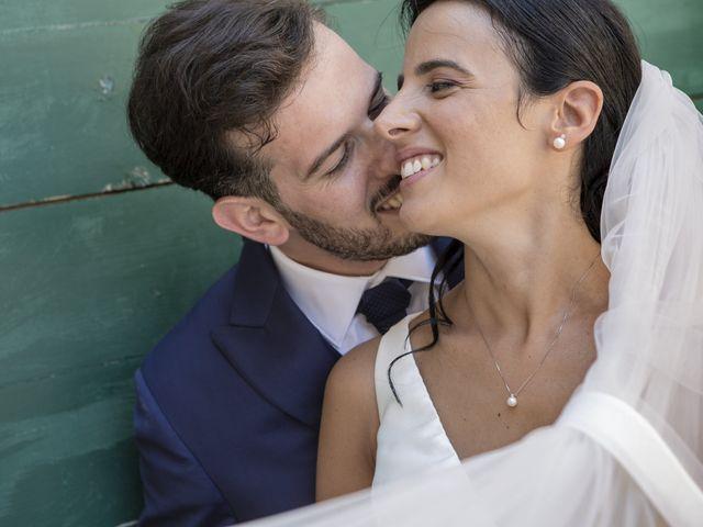 Il matrimonio di Cecilia e Eugenio a Mergo, Ancona 1