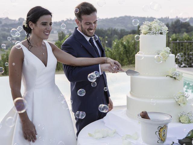 Il matrimonio di Cecilia e Eugenio a Mergo, Ancona 83