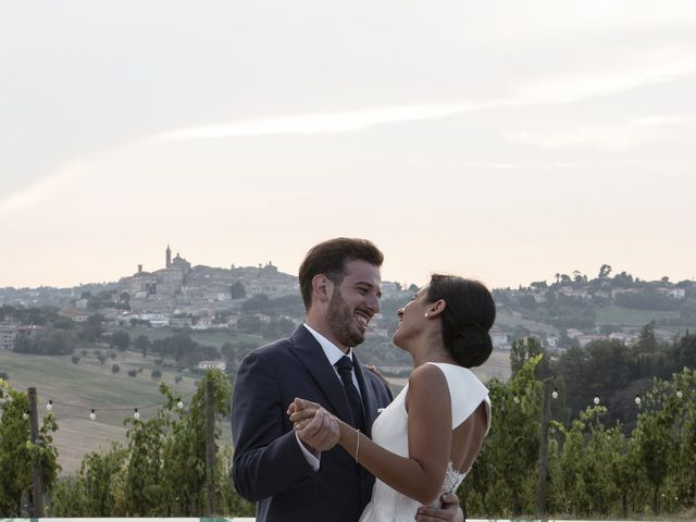 Il matrimonio di Cecilia e Eugenio a Mergo, Ancona 93