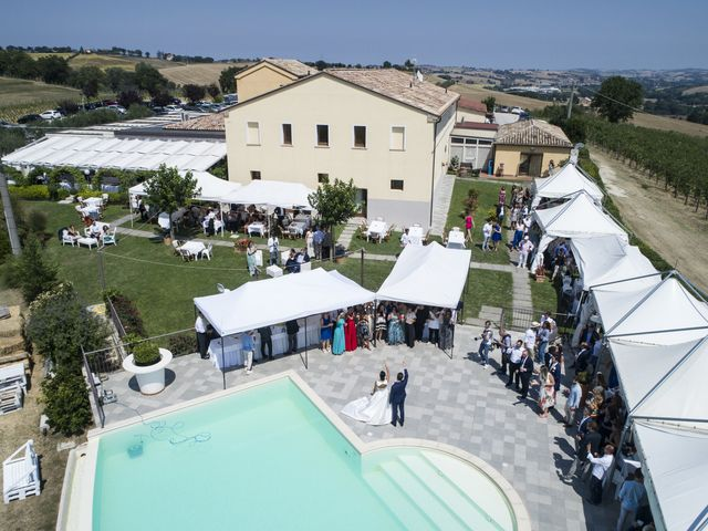 Il matrimonio di Cecilia e Eugenio a Mergo, Ancona 95