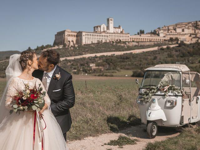 Il matrimonio di Matteo e Flavia a Assisi, Perugia 2