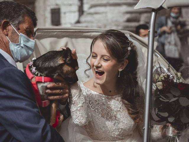Il matrimonio di Matteo e Flavia a Assisi, Perugia 22