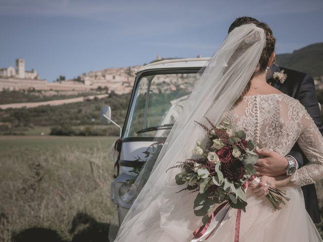 Il matrimonio di Matteo e Flavia a Assisi, Perugia 23
