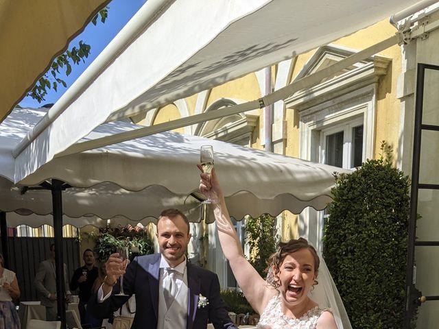 Il matrimonio di Giulio e Greta a Rovellasca, Como 4