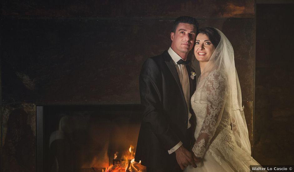 Il matrimonio di Andrea e Valentina a Pietraperzia, Enna