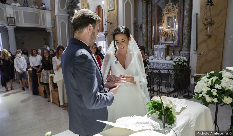 Il matrimonio di Cecilia e Eugenio a Mergo, Ancona