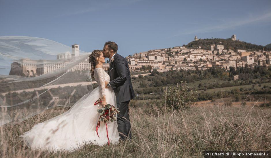 Il matrimonio di Matteo e Flavia a Assisi, Perugia
