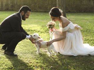 Le nozze di Antonio e Melania