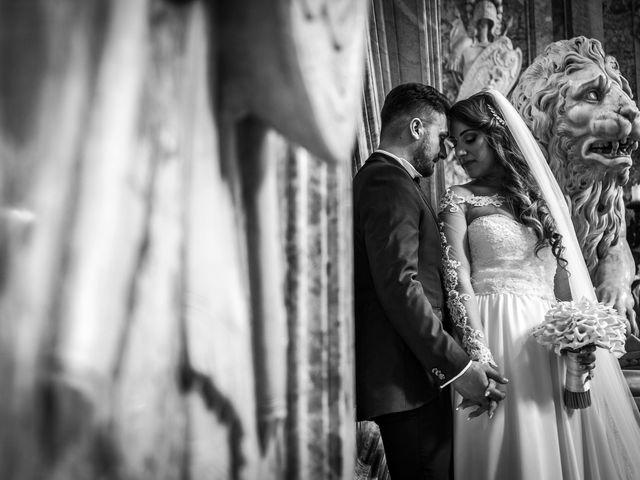 Le nozze di Salvatore e Carmen