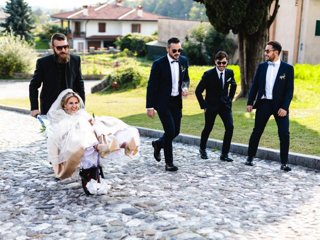 Il matrimonio di Boris e Giulia a Forgaria nel Friuli, Udine 691