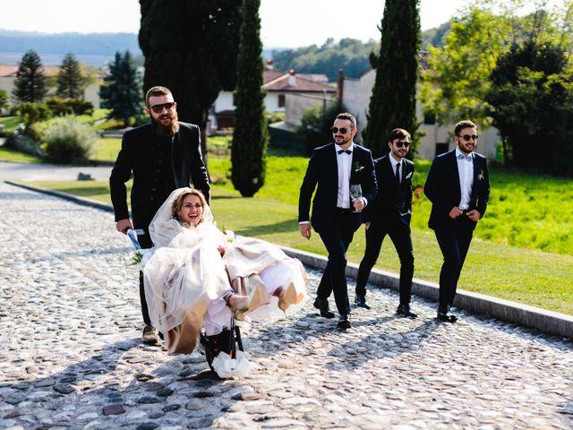 Il matrimonio di Boris e Giulia a Forgaria nel Friuli, Udine 693