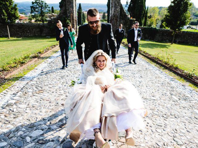 Il matrimonio di Boris e Giulia a Forgaria nel Friuli, Udine 700