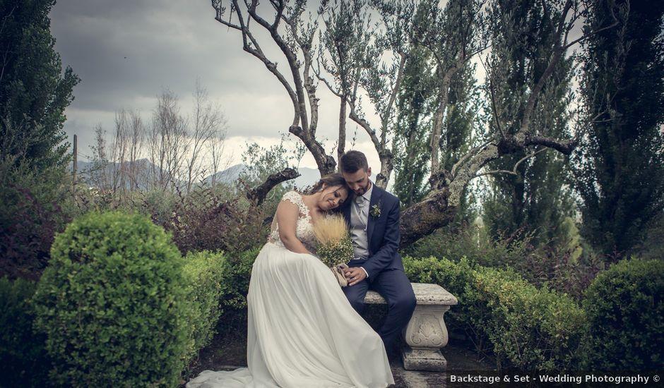 Il matrimonio di Marco e Carmina a Santa Maria a Vico, Caserta