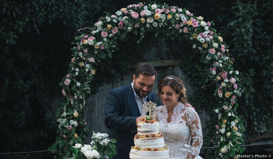 Il matrimonio di Sergio e Sara a Sant'Alfio, Catania