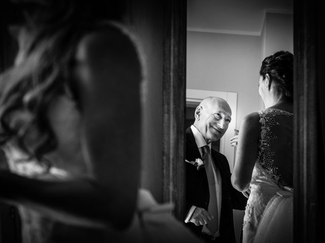 Il matrimonio di Andrea e Serena a Vergiate, Varese 8