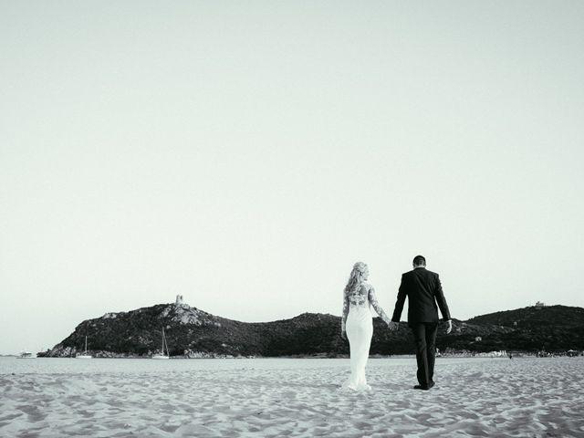 Il matrimonio di Simone e Sarah a Villasimius, Cagliari 3