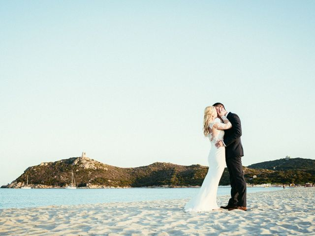 Il matrimonio di Simone e Sarah a Villasimius, Cagliari 4