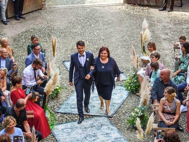 Il matrimonio di Diego e Michela a Piovera, Alessandria 18