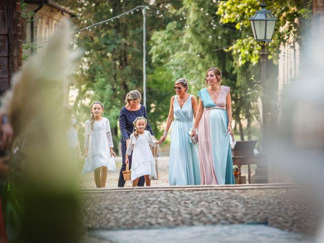 Il matrimonio di Diego e Michela a Piovera, Alessandria 19