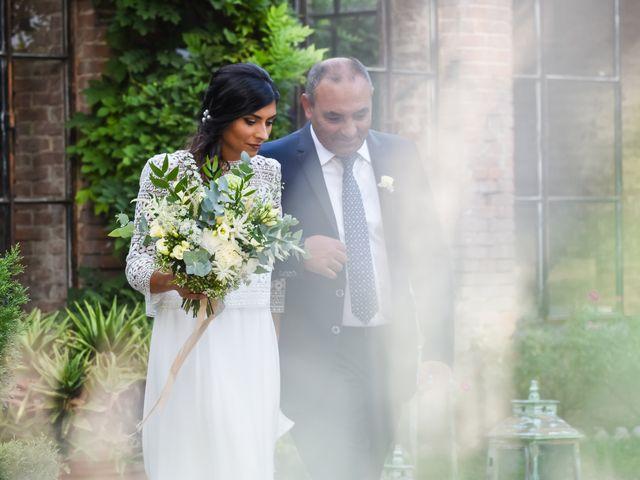 Il matrimonio di Diego e Michela a Piovera, Alessandria 20