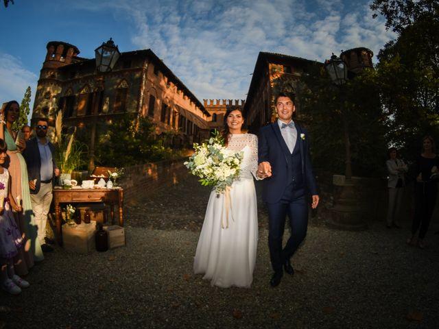 Il matrimonio di Diego e Michela a Piovera, Alessandria 27