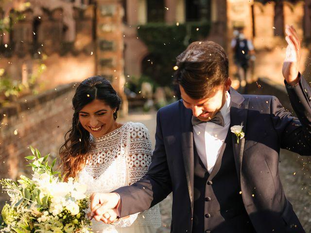 Il matrimonio di Diego e Michela a Piovera, Alessandria 28