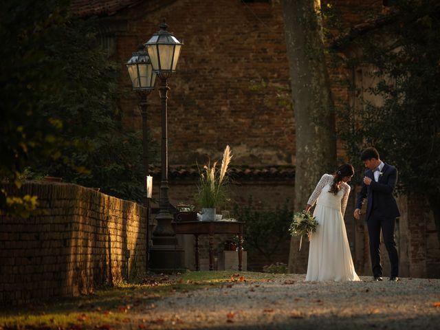 Il matrimonio di Diego e Michela a Piovera, Alessandria 31