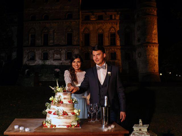 Il matrimonio di Diego e Michela a Piovera, Alessandria 42