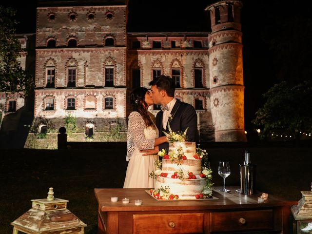 Il matrimonio di Diego e Michela a Piovera, Alessandria 41