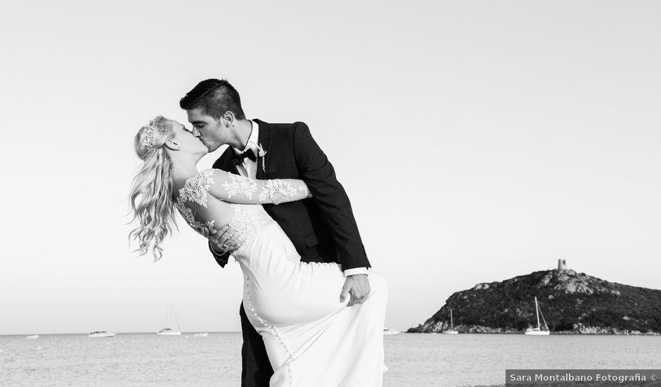 Il matrimonio di Simone e Sarah a Villasimius, Cagliari