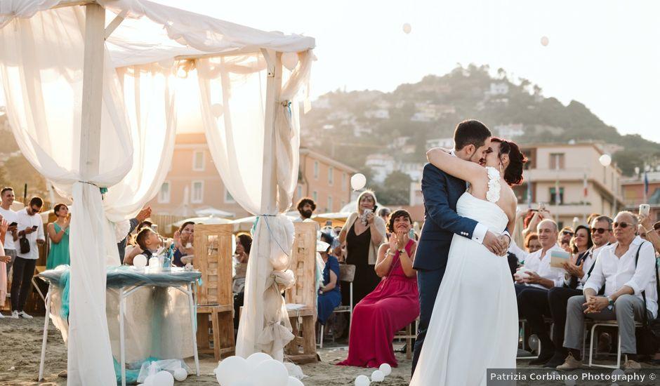 Il matrimonio di Giuseppe e Francesca a Albissola Marina, Savona