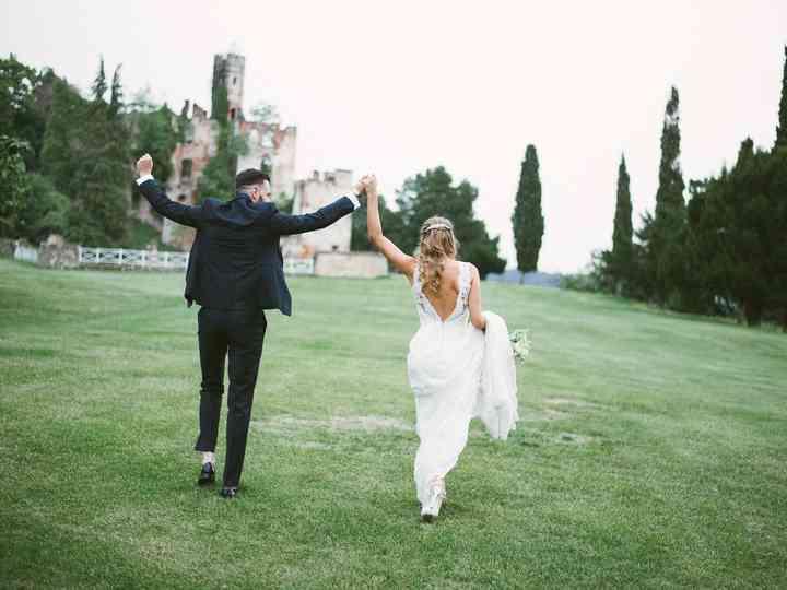 Le nozze di Stephanie e Etienne
