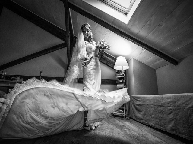 Il matrimonio di Etienne e Stephanie a Cerrione, Biella 15