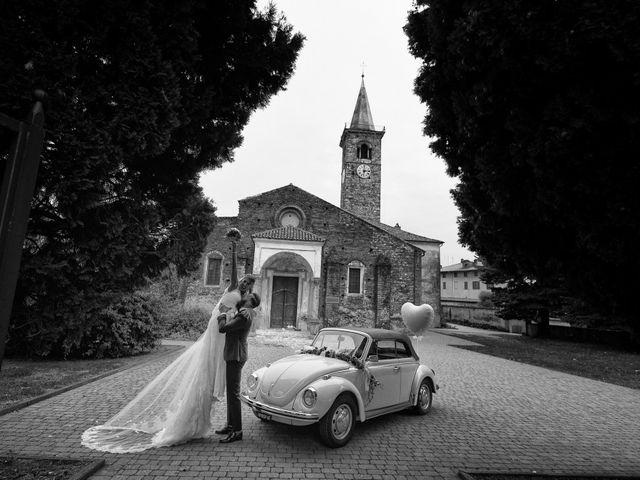 Il matrimonio di Etienne e Stephanie a Cerrione, Biella 29
