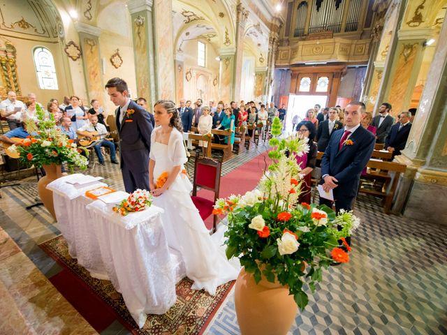 Il matrimonio di Alessandro e Linda a Sant'Angelo Lomellina, Pavia 6