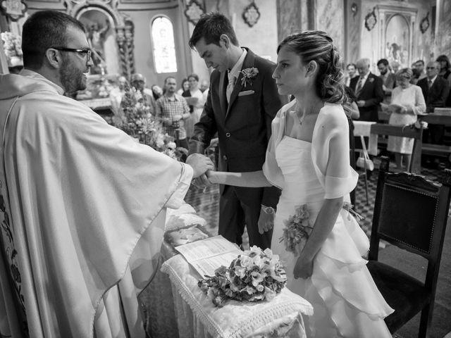 Il matrimonio di Alessandro e Linda a Sant'Angelo Lomellina, Pavia 7