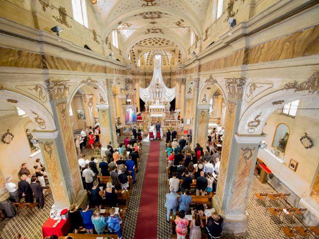 Il matrimonio di Alessandro e Linda a Sant'Angelo Lomellina, Pavia 9