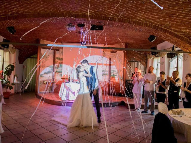 Il matrimonio di Alessandro e Linda a Sant'Angelo Lomellina, Pavia 17