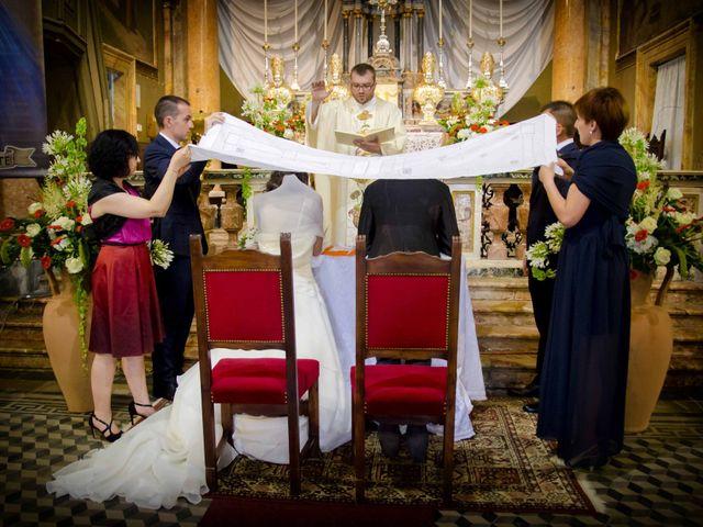 Il matrimonio di Alessandro e Linda a Sant'Angelo Lomellina, Pavia 8