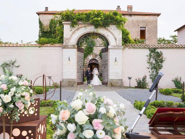 Il matrimonio di Fabio e Michela a Pomezia, Roma 23