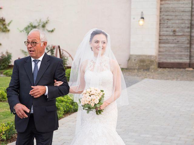 Il matrimonio di Fabio e Michela a Pomezia, Roma 25