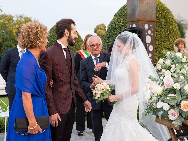 Il matrimonio di Fabio e Michela a Pomezia, Roma 26