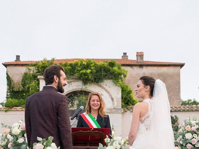 Il matrimonio di Fabio e Michela a Pomezia, Roma 28