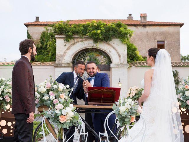 Il matrimonio di Fabio e Michela a Pomezia, Roma 31