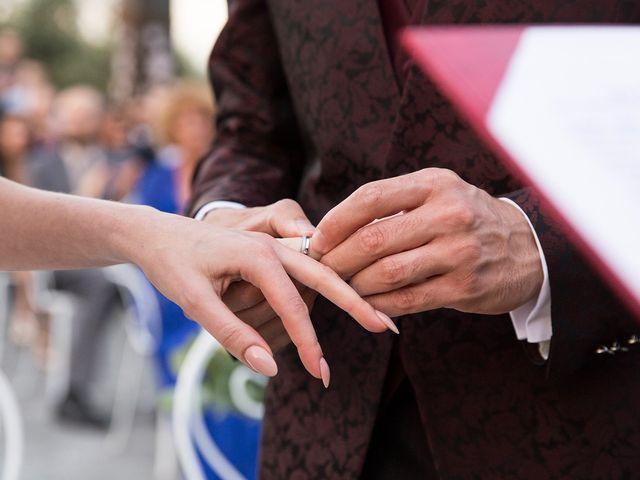 Il matrimonio di Fabio e Michela a Pomezia, Roma 32
