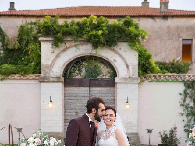 Il matrimonio di Fabio e Michela a Pomezia, Roma 34