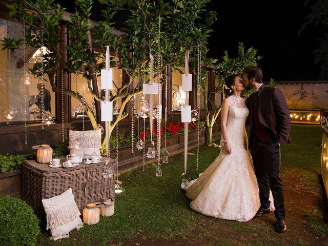 Il matrimonio di Fabio e Michela a Pomezia, Roma 57