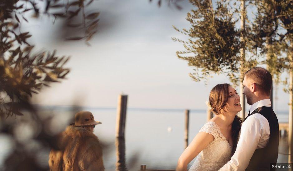 Il matrimonio di Matteo e Ilaria a Lazise, Verona