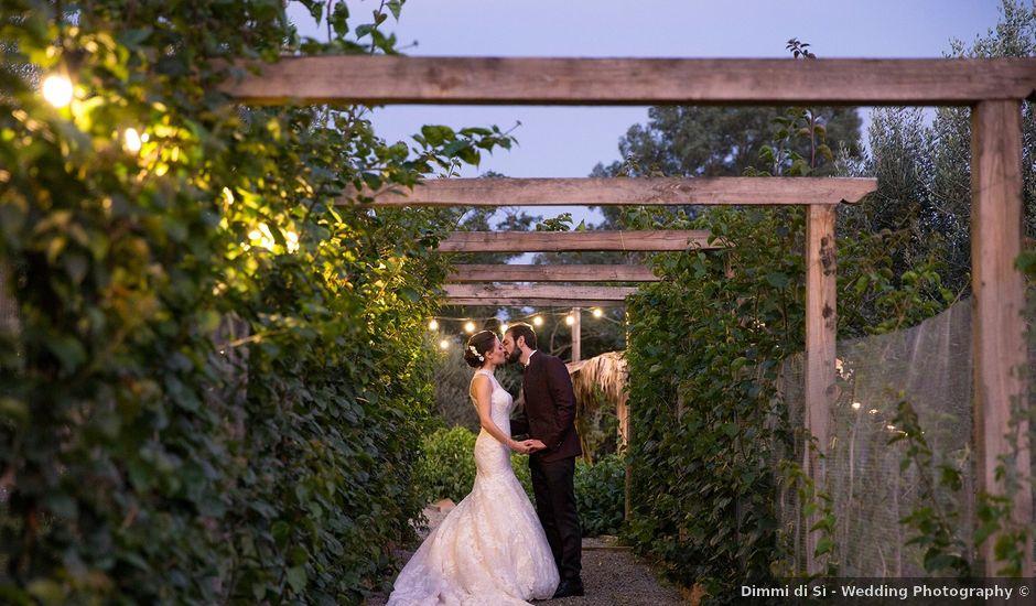 Il matrimonio di Fabio e Michela a Pomezia, Roma
