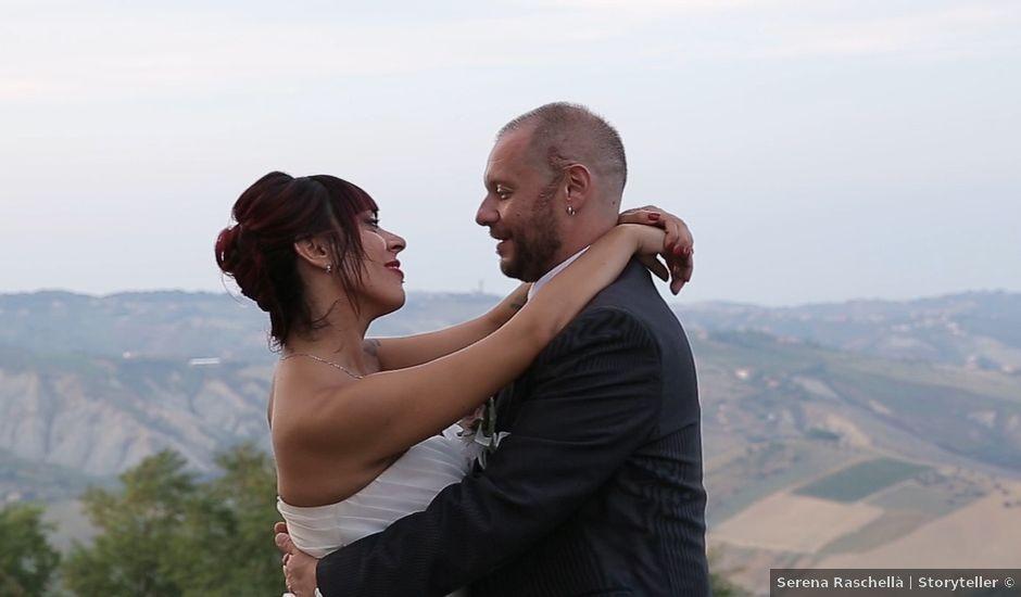 Il matrimonio di Lorenzo e Chiara a Città Sant'Angelo, Pescara